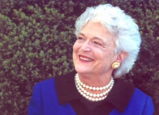Barbara Bush Death, the first lady of US