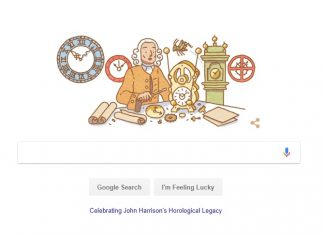 Celebrating John Harrison 325th Birth Anniversary.