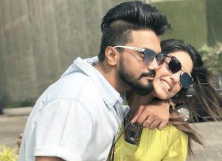 Hina Khan Engaged To Rocky Jaiswal. (Photo: Twitter @JJROCKXX)