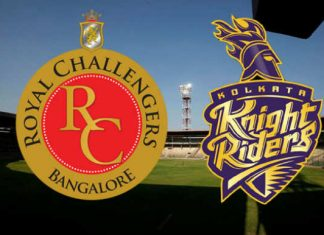 IPL 2018 RCB vs KKR Live Score Today Watch Hotstar App Jio TV Airtel TV Royal Challengers Bangalore Vs Kolkata Knight Riders Live Streaming Online