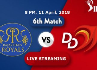 IPL 2018 Rajasthan Royals Vs Delhi Daredevils Hotstar Live Cricket Score Watch Match Streaming Online Free Star Sports 1 First TV