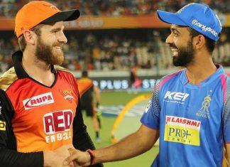 Rajasthan Royals Vs Sunrisers Hyderabad. (BCCI Photo)