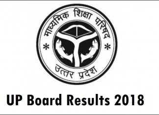 UP Board Results 2018