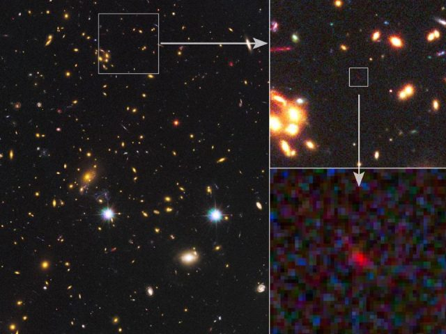 Science       Space Experts Confirm Second Most Distant Galaxy Ever And Its Stars Are Already Old