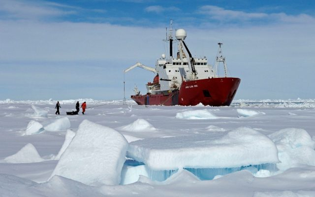 U.S. and United Kingdom join forces in biggest ever Antarctic field campaign