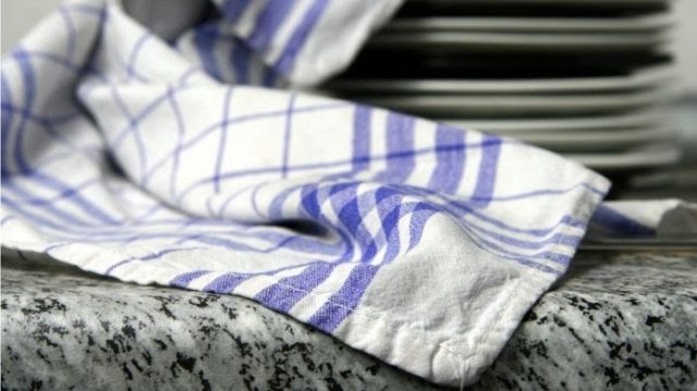 Kitchen Towels Laden With Bacteria