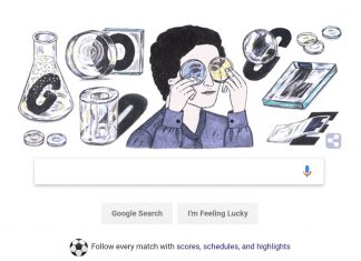 Marga Faulstich. (Photo: Google Doodle)