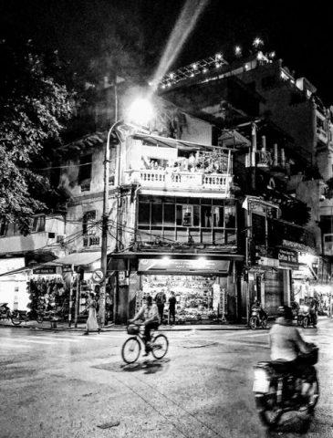 Old Hanoi Night Corner