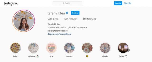 Tara Milk Tea